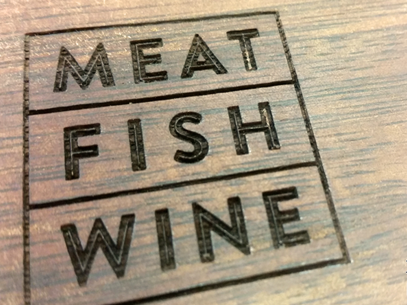 Meat Fish Wine