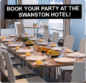 Book your Christmas Party at The Swanston Hotel!