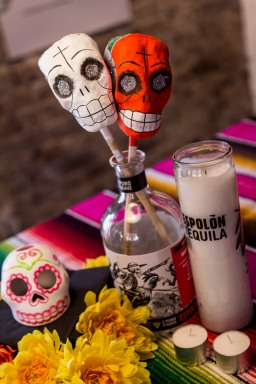 Espolón Tequila Day of the Dead Party held at Mrs Sippy, Double Bay, Sydney, Australia 1st of November 2012.
