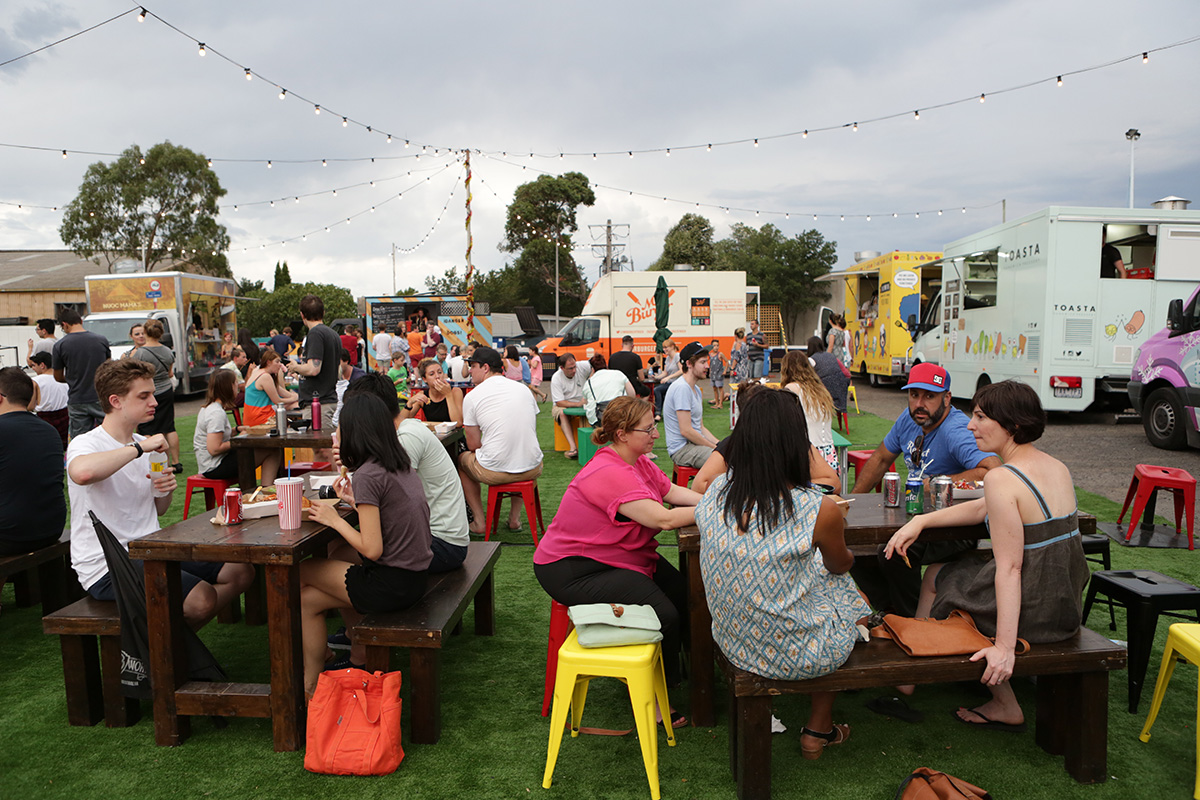 The Coburg Drive-In Food Truck Festival